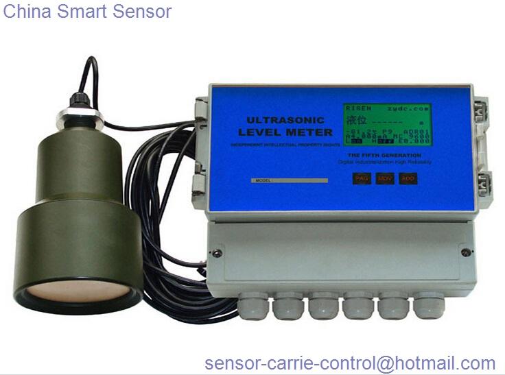 Split Type Ultrasonic Water Level Meter China Smart